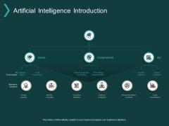 Artificial Intelligence Introduction Ppt PowerPoint Presentation Outline Slide Portrait