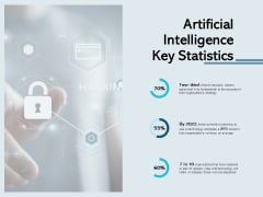 Artificial Intelligence Key Statistics Ppt PowerPoint Presentation Professional Example Introduction