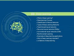 Artificial Intelligence Machine Learning Deep Learning Deep Learning Ppt PowerPoint Presentation Summary Smartart PDF