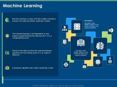 Artificial Intelligence Machine Learning Deep Learning Machine Learning Ppt PowerPoint Presentation Portfolio Microsoft PDF