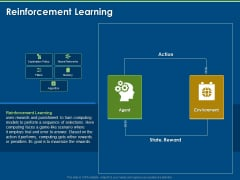 Artificial Intelligence Machine Learning Deep Learning Reinforcement Learning Ppt PowerPoint Presentation Gallery Clipart Images PDF