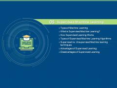 Artificial Intelligence Machine Learning Deep Learning Supervised Machine Learning Ppt PowerPoint Presentation Slides Graphics PDF
