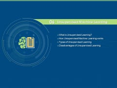 Artificial Intelligence Machine Learning Deep Learning Unsupervised Machine Learning Ppt PowerPoint Presentation Backgrounds PDF
