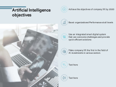 Artificial Intelligence Objectives Big Data Analysis Ppt PowerPoint Presentation Inspiration Styles