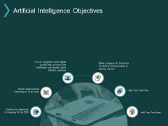 Artificial Intelligence Objectives Ppt PowerPoint Presentation Infographic Template Slide