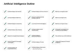 Artificial Intelligence Outline Ppt PowerPoint Presentation Model Design Inspiration