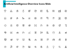 Artificial Intelligence Overview Icons Slide Checklist Ppt PowerPoint Presentation Icon Outfit