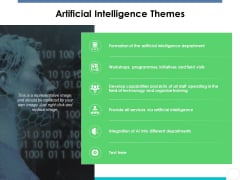 Artificial Intelligence Themes Ppt PowerPoint Presentation Show Layout