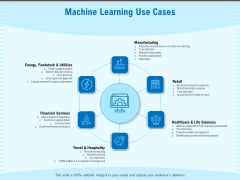 Artificial Surveillance Machine Learning Use Cases Ppt PowerPoint Presentation Icon Master Slide PDF