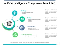 Artificiel Intelligence Components Template 1 Ppt PowerPoint Presentation Slides Show