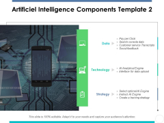 Artificiel Intelligence Components Template 2 Ppt PowerPoint Presentation Slides Inspiration
