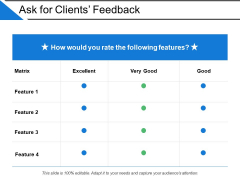 Ask For Clients Feedback Ppt PowerPoint Presentation Design Templates