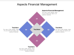 Aspects Financial Management Ppt PowerPoint Presentation Layouts Ideas Cpb