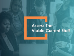 Assess The Viable Current Staff Talent Mapping Ppt PowerPoint Presentation Portfolio Icon