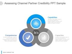 Assessing Channel Partner Credibility Ppt Sample