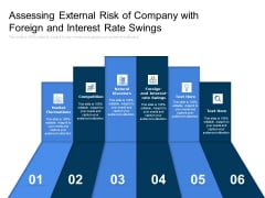Assessing External Risk Of Company With Foreign And Interest Rate Swings Ppt PowerPoint Presentation Summary Designs Download PDF