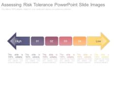 Assessing Risk Tolerance Powerpoint Slide Images