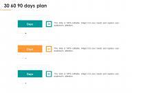 Assessing Stakeholder Analysis Scenario 30 60 90 Days Plan Ppt Styles Icons PDF