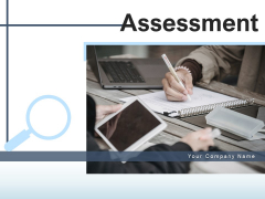 Assessment Investigation Magnifying Glass Ppt PowerPoint Presentation Complete Deck