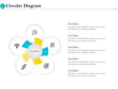 Assessment Of Fixed Assets Circular Diagram Clipart PDF