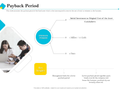 Assessment Of Fixed Assets Payback Period Elements PDF