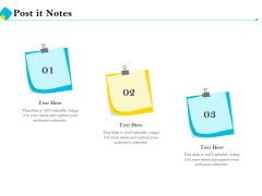 Assessment Of Fixed Assets Post It Notes Clipart PDF