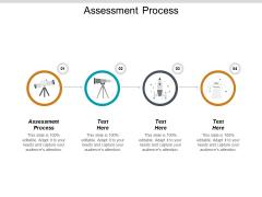 Assessment Process Ppt PowerPoint Presentation Inspiration Demonstration Cpb