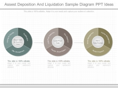 Assest Deposition And Liquidation Sample Diagram Ppt Ideas