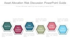 Asset Allocation Risk Discussion Powerpoint Guide