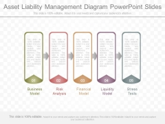 Asset Liability Management Diagram Powerpoint Slides