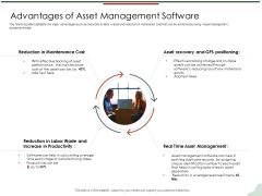 Asset Management Lifecycle Optimization Procurement Advantages Of Asset Management Software Brochure PDF