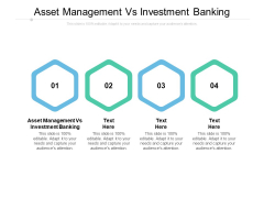 Asset Management Vs Investment Banking Ppt PowerPoint Presentation Summary Graphics Example Cpb