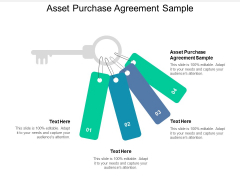 Asset Purchase Agreement Sample Ppt PowerPoint Presentation Summary Graphics Tutorials