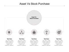 Asset Vs Stock Purchase Ppt PowerPoint Presentation Infographics Structure Cpb