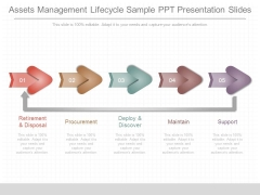 Assets Management Lifecycle Sample Ppt Presentation Slides