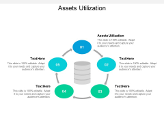 Assets Utilization Ppt PowerPoint Presentation Inspiration Cpb