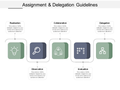 Assignment And Delegation Guidelines Ppt PowerPoint Presentation File Brochure