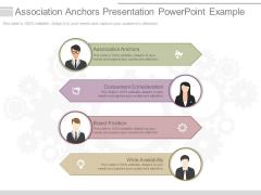 Association Anchors Presentation Powerpoint Example