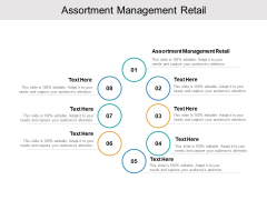 Assortment Management Retail Ppt PowerPoint Presentation Styles Background Image Cpb