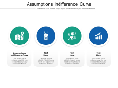 Assumptions Indifference Curve Ppt PowerPoint Presentation Infographic Template Introduction Cpb Pdf