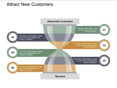 Attract New Customers Ppt PowerPoint Presentation Infographics Gridlines Cpb