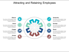 Attracting And Retaining Employees Ppt Powerpoint Presentation File Slide Portrait