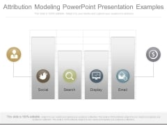 Attribution Modeling Powerpoint Presentation Examples