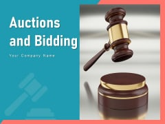 Auctions And Bidding Individual Innovation Business Ppt PowerPoint Presentation Complete Deck