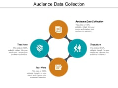 Audience Data Collection Ppt PowerPoint Presentation Outline Infographics Cpb