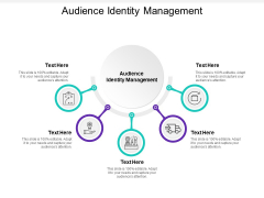 Audience Identity Management Ppt PowerPoint Presentation Infographics Guide Cpb