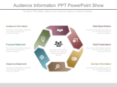 Audience Information Ppt Powerpoint Show