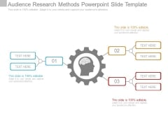 Audience Research Methods Powerpoint Slide Template