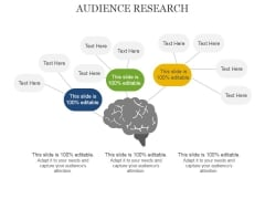 Audience Research Ppt PowerPoint Presentation Gallery Visuals