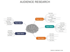 Audience Research Ppt PowerPoint Presentation Infographic Template